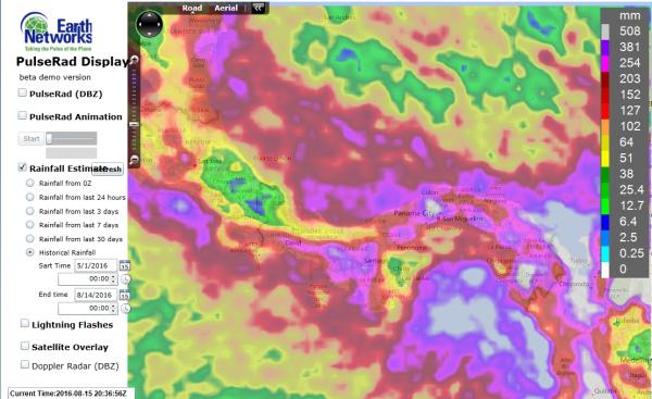panama wet season