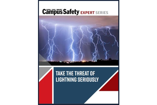 Campus Safety - Take the threat of Lightning Seriously Cover Image