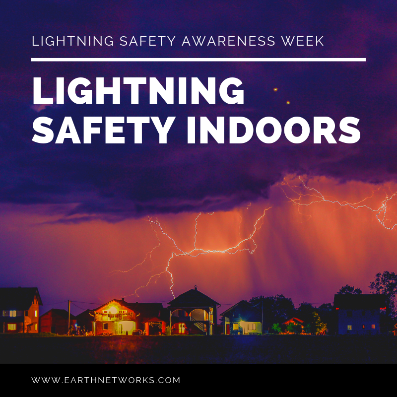 "Title: ""LIGHTNING SAFETY INDOORS"""