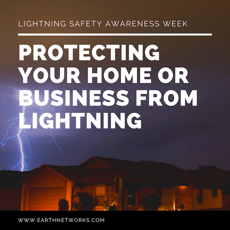 "Title: ""PROTECTING YOUR HOME OR BUSINESS FROM LIGHTNING"""