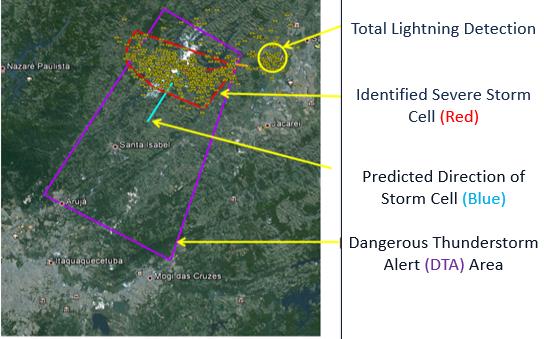 Dangerous Thunderstorm Alert explanation