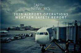 2019 Airport Operations Weather Safety Report Cover Image - Earth Networks