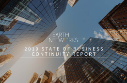 2019 Business Continuity Report Cover Image - Earth Networks