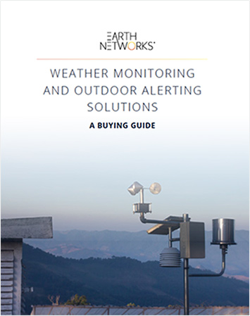 Screenshot of the Weather Monitoring and Outdoor alerting Solutions Buying Guide