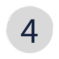 "a dark blue ""4"" in a grey circle"