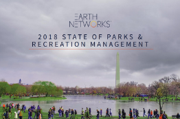 2018 State of Parks and Recreation Industry Report Cover Image - Earth Networks