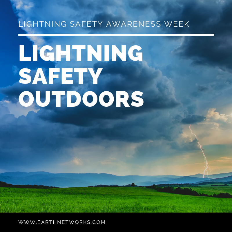 "Lightning safety awareness week title ""Lightning Safety Outdoors"""