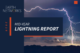 2019 U.S. Mid-Year Lightning Report Cover Image - Earth Networks