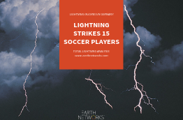 Lightning strikes 15 soccer players in germany - total lightning analysis