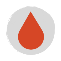 Dew drop red icon