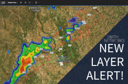 New Layer Alert for our weather map, Sferic Maps, which includes Storm ETA, single site radar improvements, NDFD highs and lows, and support portal access