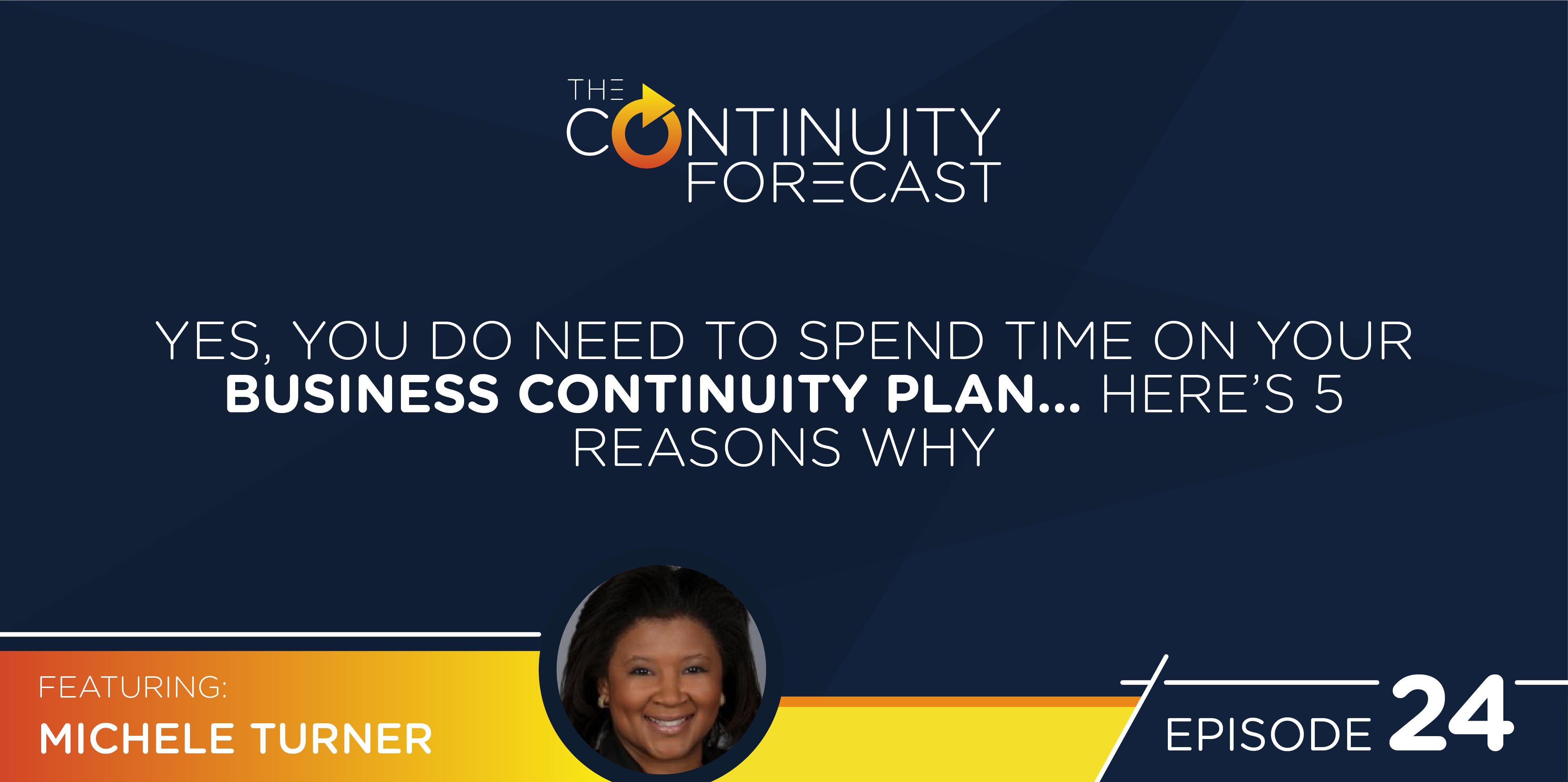 Continuity Forecast Michele Turner