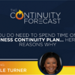 Michele turner from Amazon was our guest on the 24th episode of the Continuity Forecast