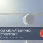How does aircraft lightning protection work?