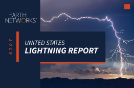 2019 U.S. Lightning Report Cover Image - Earth Networks