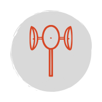 Anemometer wind speed icon