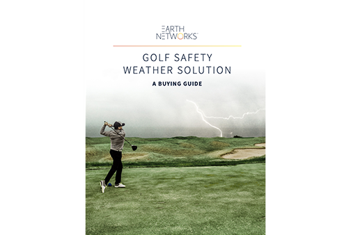 Golf Safety Weather Solutions Buying Guide Cover Image - Earth Networks
