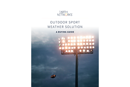 Sport Weather Alerting Applications Buying Guide Cover Image - Earth Networks