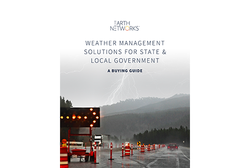 State & Local Weather Alerting Applications Buying Guide Cover Image - Earth Networks
