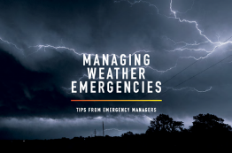 Managing Weather Emergencies E-Book Cover Image - Earth Networks
