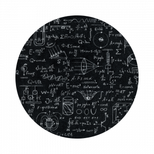 math equation on a chalk board