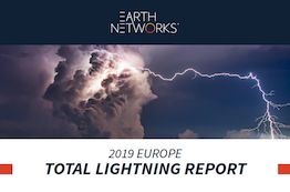 2019 Europe Lightning Report Cover Image - Earth Networks