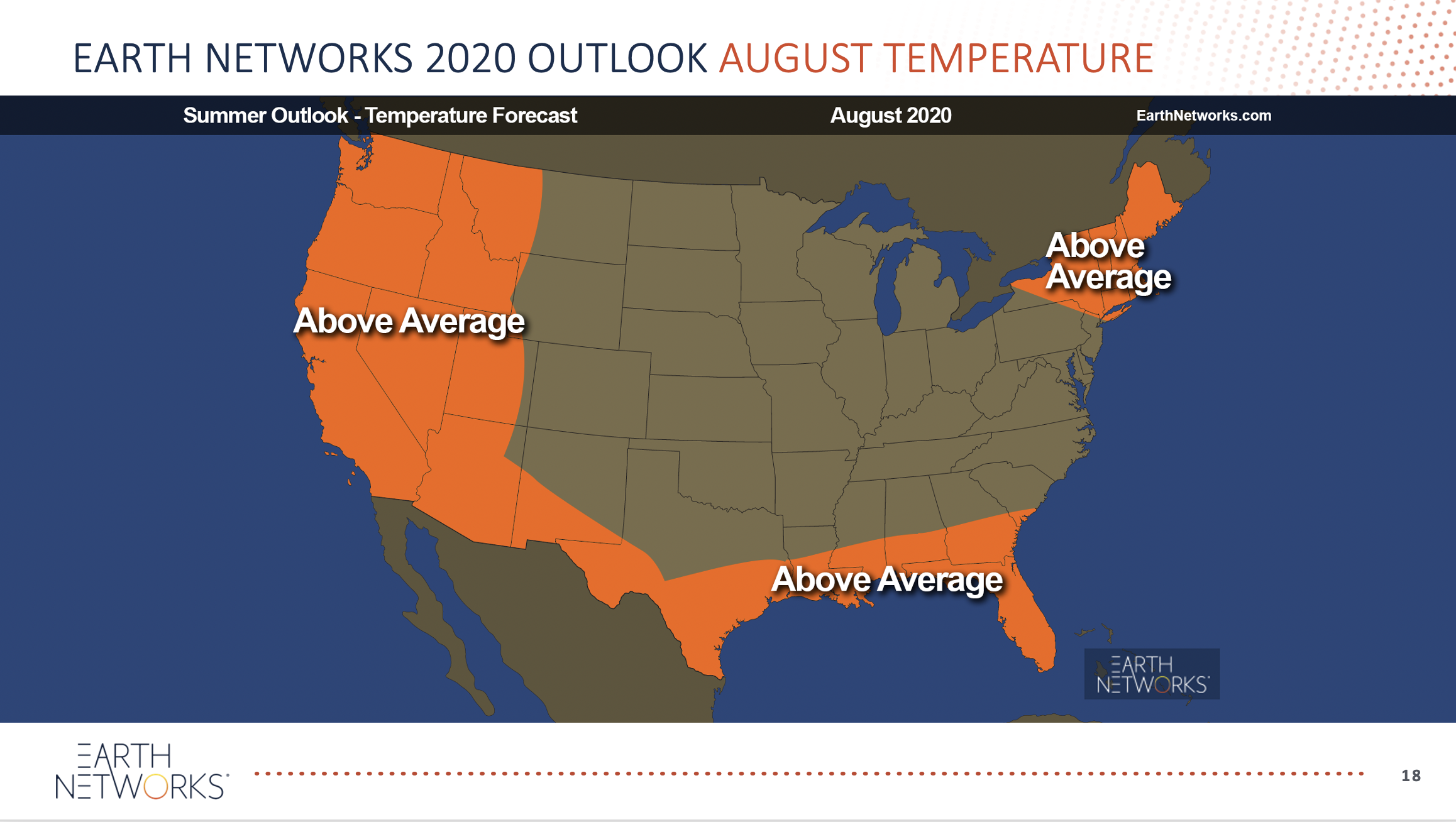 August extreme temperatures 2020 summer outlook webinar