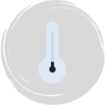 Thermometer with low temperature reading