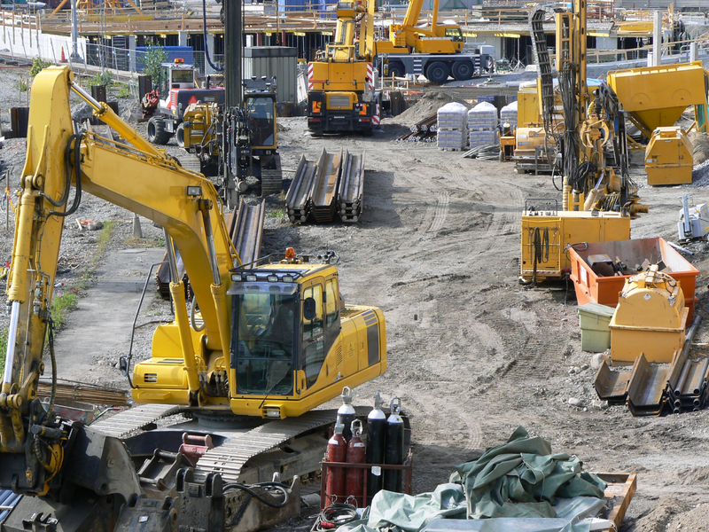 Outdoor Construction Site